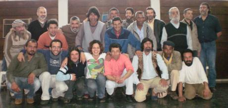 Marina Medeiros y actores de la Redota